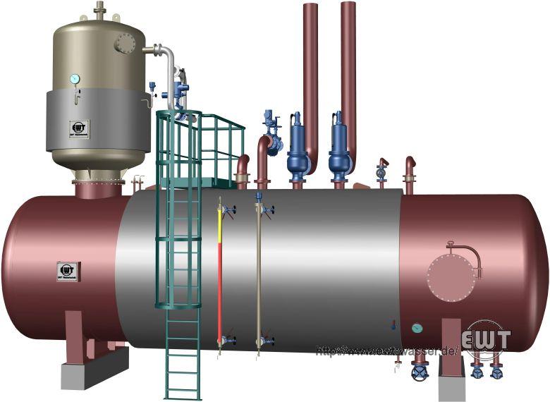 Boiler Feed Water ~ Deaerator boiler feed water tank ewt technology
