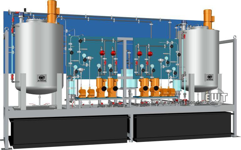 Dosing System Ewt Water Technology